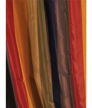 Kaleidoscope Faux Silk Taffeta Stripe Swatch