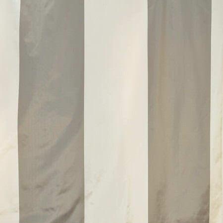 Denmark Faux Silk Taffeta Stripe Swatch