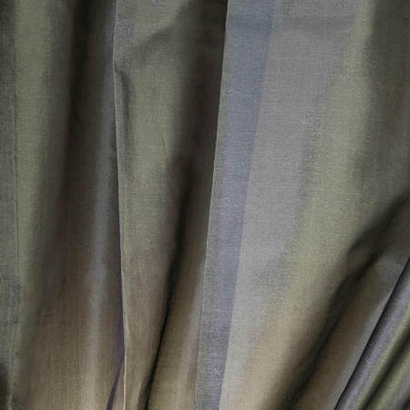 Grey Silk Organza Sheer Swatch