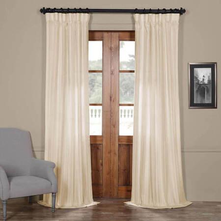 Cayman Stone Striped Linen Sheer Curtain