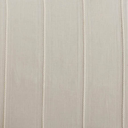 Aruba White Striped Linen Sheer Swatch
