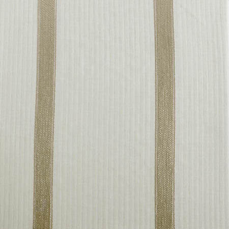Antigua Gold Striped Linen Sheer Swatch