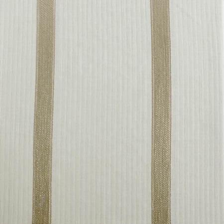 Antigua Gold Striped Linen Sheer Swatch