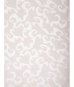 Alesandra White Patterned Sheer Swatch