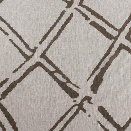 Normandy Grey Printed Sheer Swatch
