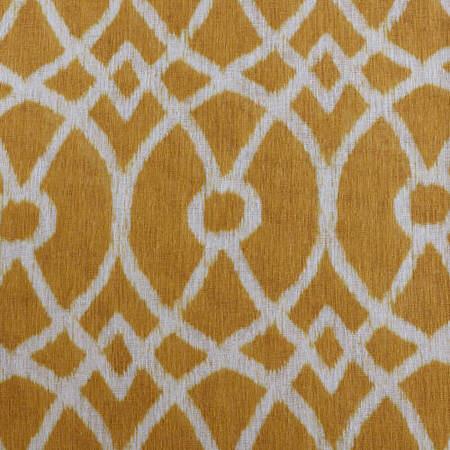 Tava Yellow Printed Sheer Swatch