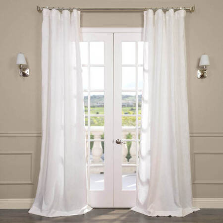 Signature Antique Lace French Linen Sheer Curtain