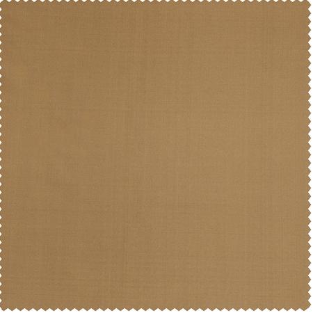 Brown Gold Thai Silk Swatch