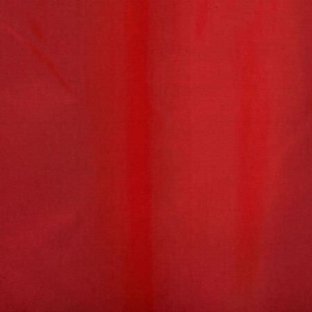 Scarlet Silk Taffeta Swatch