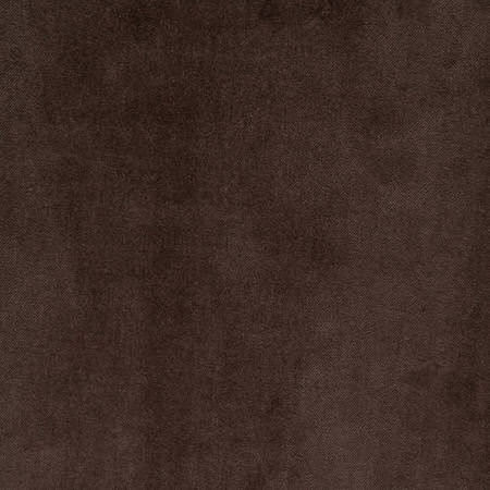 Chocolate Vintage Cotton Velvet Swatch