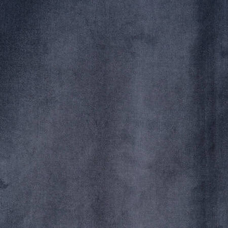 Blue Grey Vintage Cotton Velvet Swatch