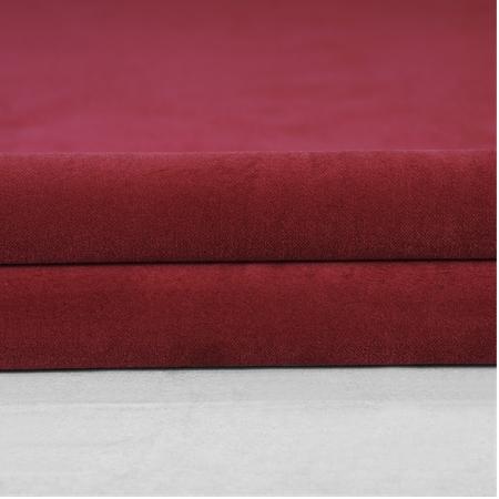 Red Vintage Cotton Velvet Swatch