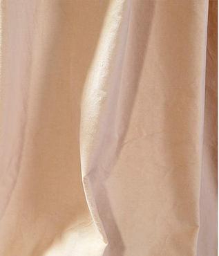 British Tan Vintage Cotton Velvet Swatch