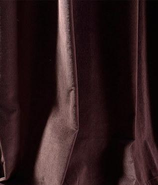 Kona Brown Vintage Cotton Velvet Swatch