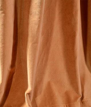 Old Gold Vintage Cotton Velvet Swatch
