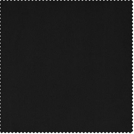Signature Black Double Wide Velvet Swatch