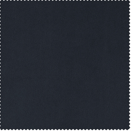 Signature Midnight Blue Double Wide Velvet Swatch