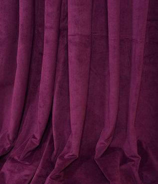 Signature Eggplant Double Wide Velvet Swatch