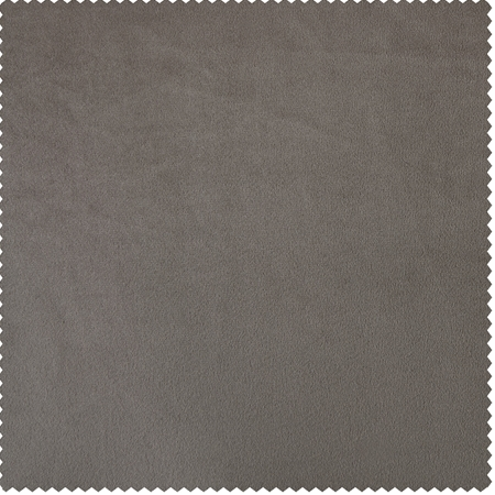 Gallery Taupe Heritage Plush Velvet Swatch