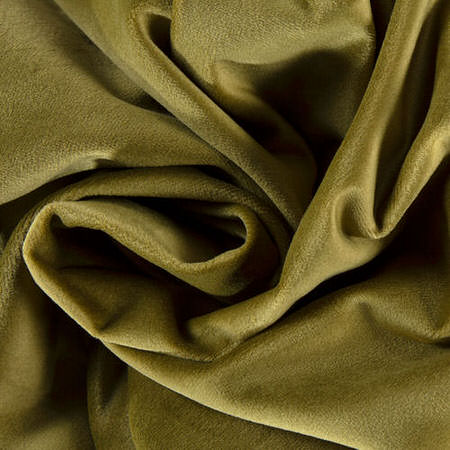 Retro Green Heritage Plush Velvet Swatch