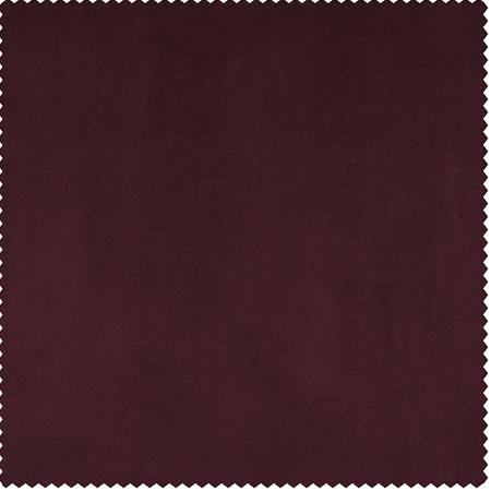 Dark Merlot Heritage Plush Velvet Swatch
