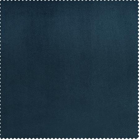 Avalon Blue Heritage Plush Velvet Swatch