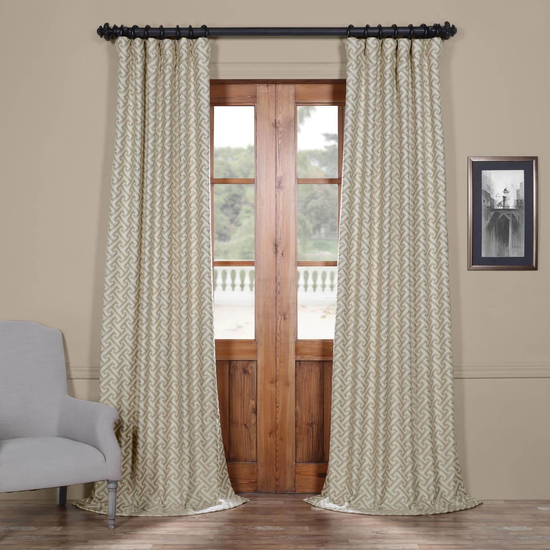 Zeus Stone Faux Silk Jacquard Curtain Retailrium Online Shopping Offers