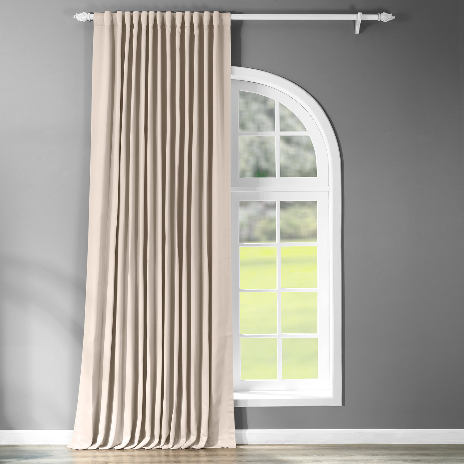 Eggnog Doublewide Blackout Curtain