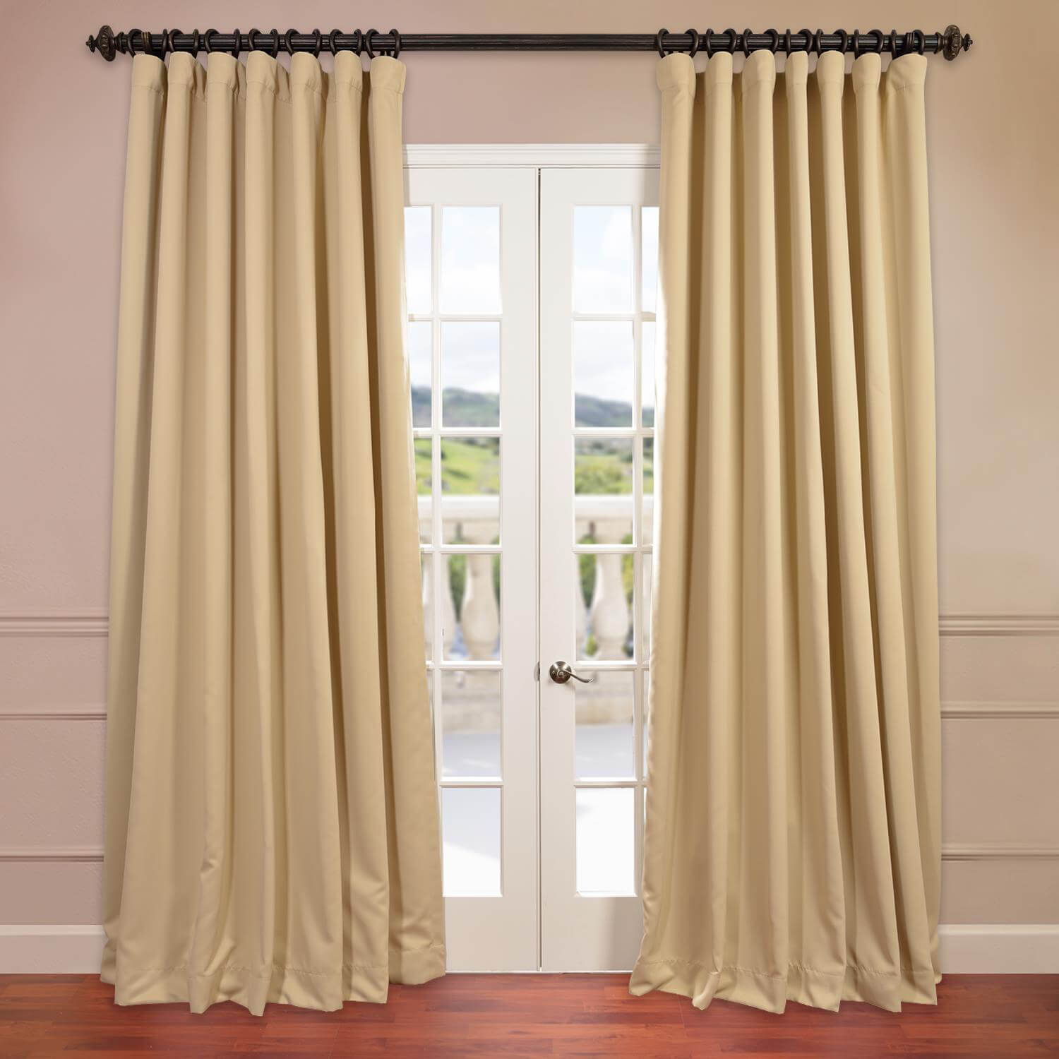 Biscotti Doublewide Blackout Curtain