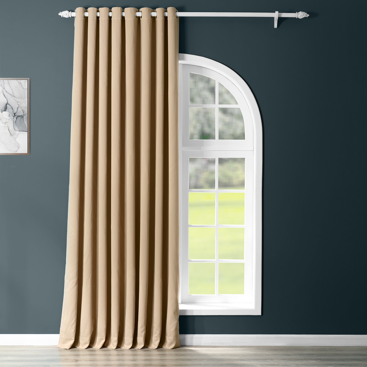 Biscotti Grommet Doublewide Blackout Curtain