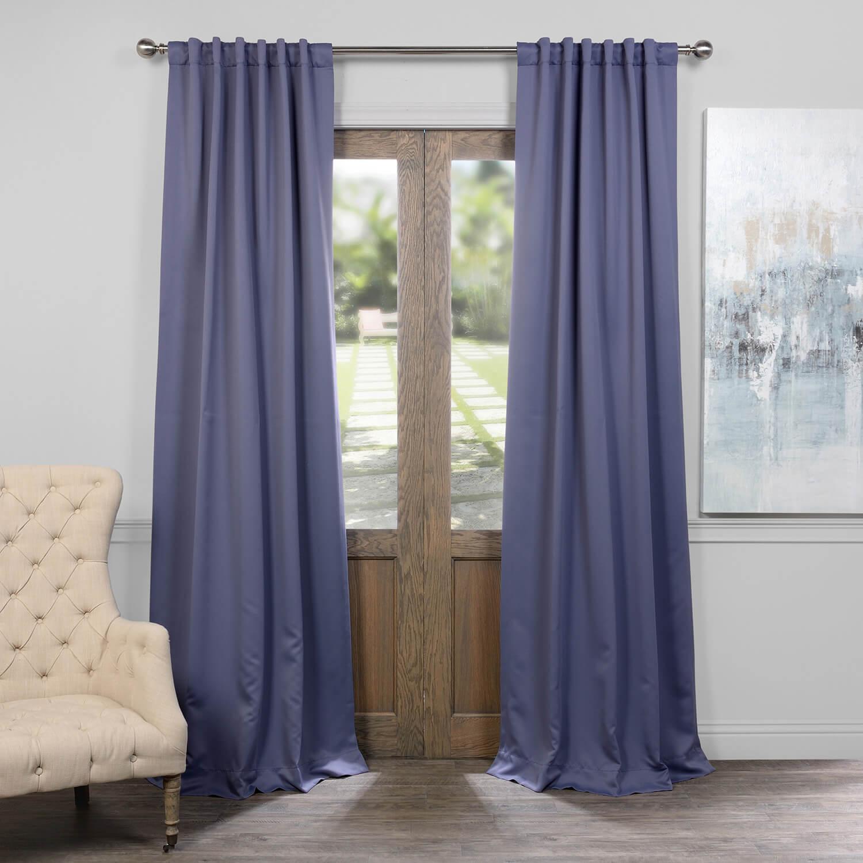 Durango Blue Blackout Curtain
