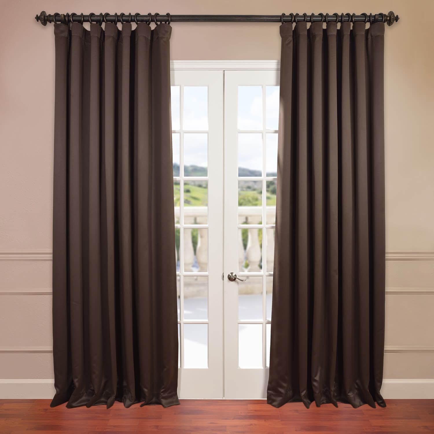 Java Doublewide Blackout Curtain