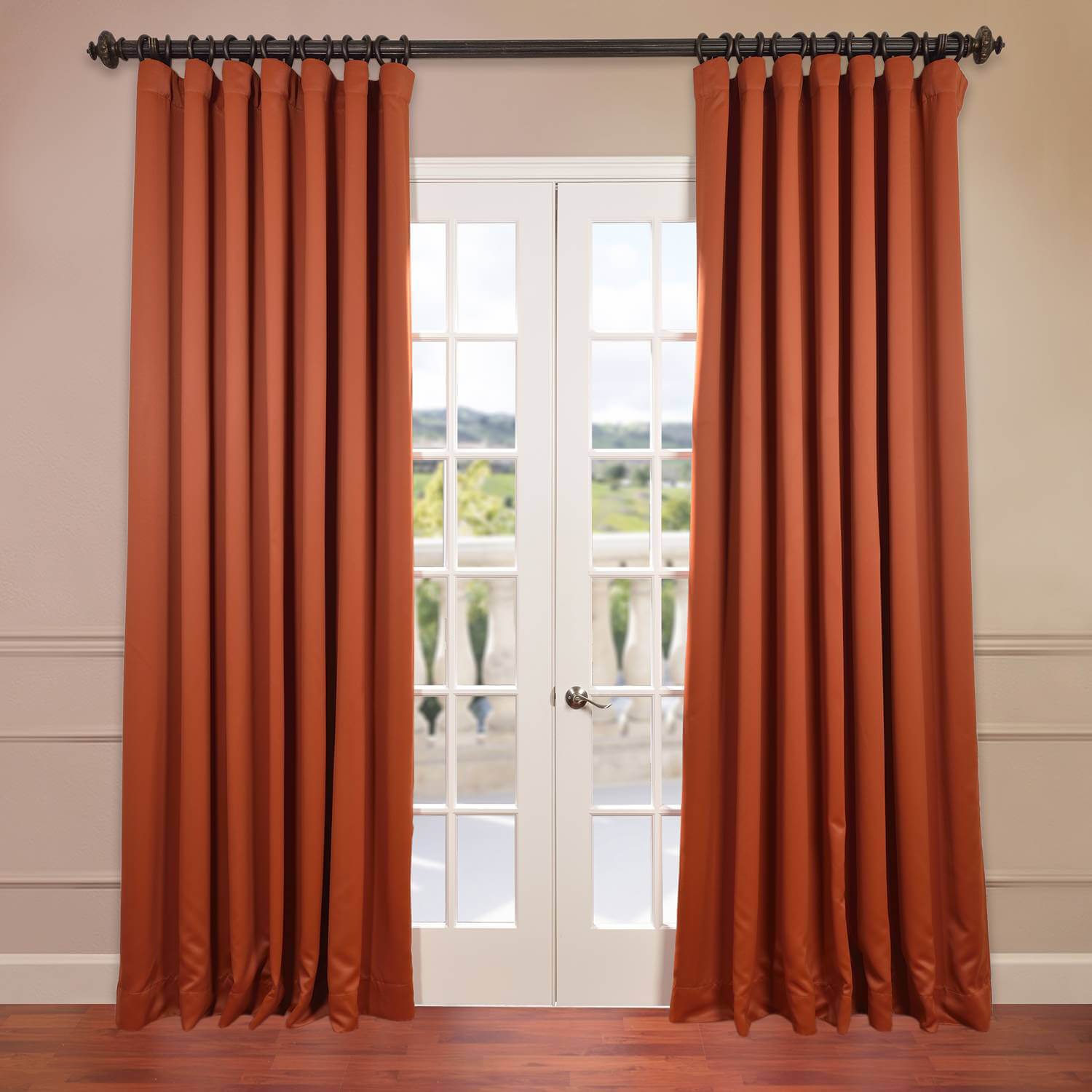Blaze Doublewide Blackout Curtain