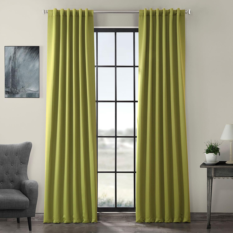 Moss Green Blackout Curtain