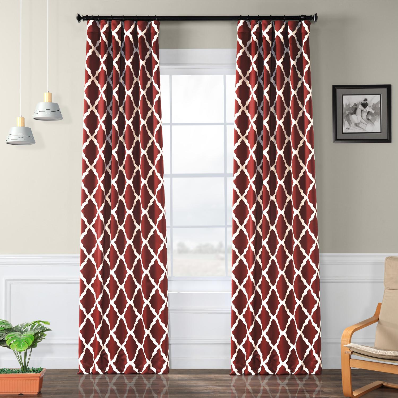 Trellise Blackout Curtain