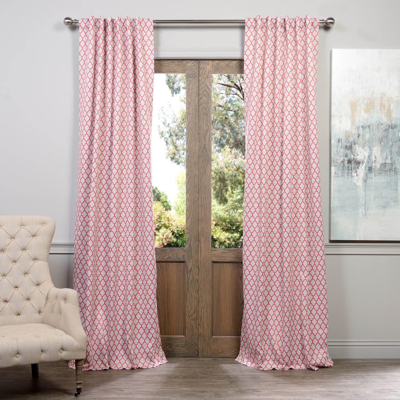 Casablanca Rose Blackout Curtain