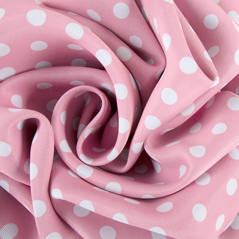 Pink Polka Dot Blackout Swatch