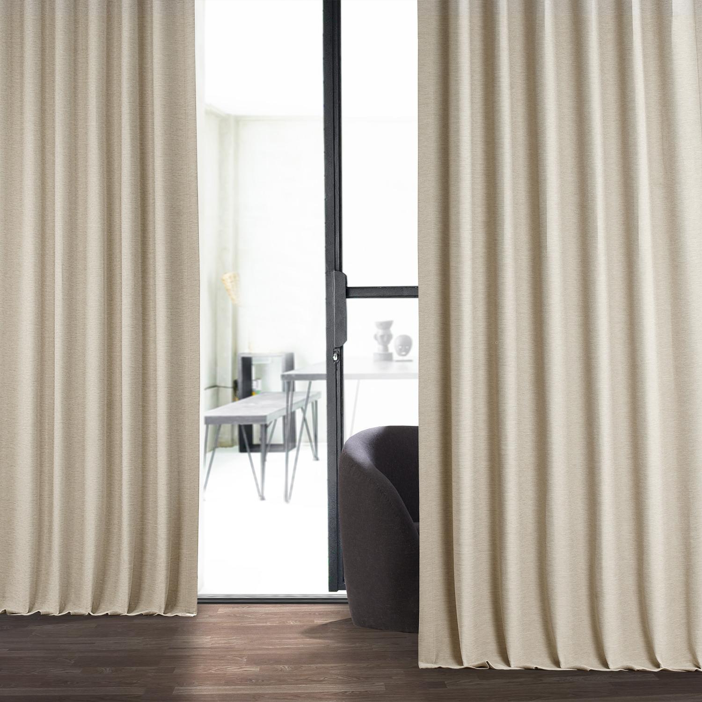 Cottage White Bellino Blackout Curtain