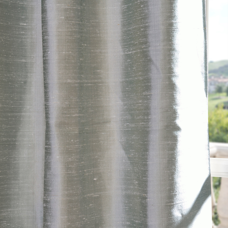 Shoreline Textured Dupioni Silk Swatch