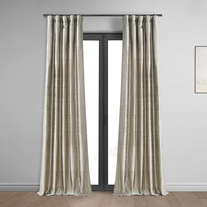 Cashmere Textured Dupioni Silk Curtain