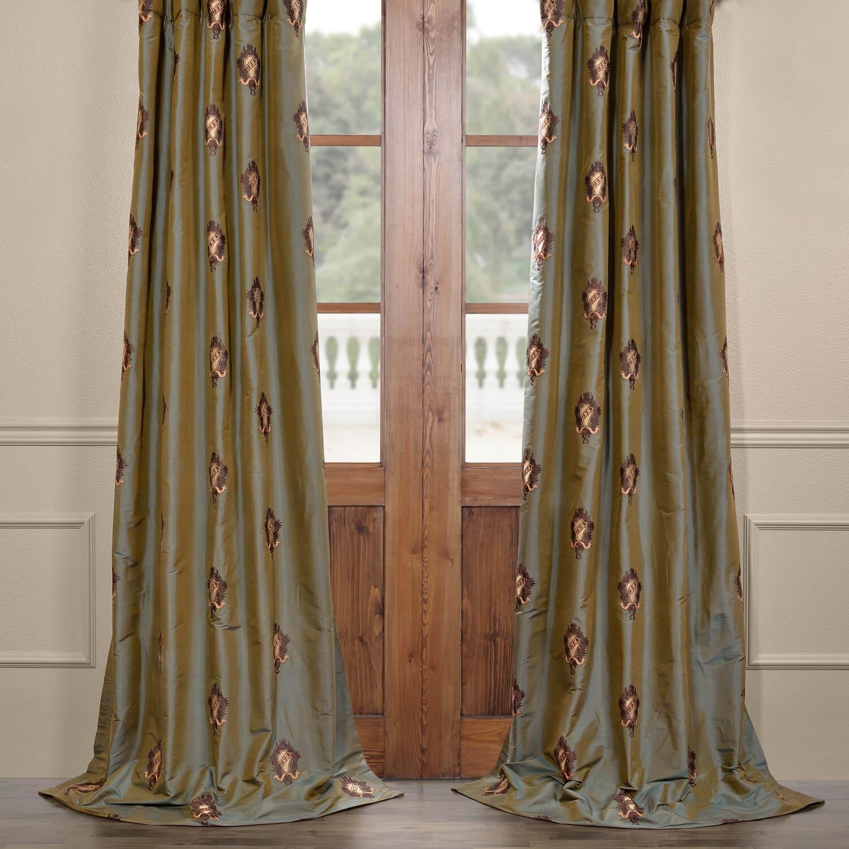 Thornburg Silk Curtain
