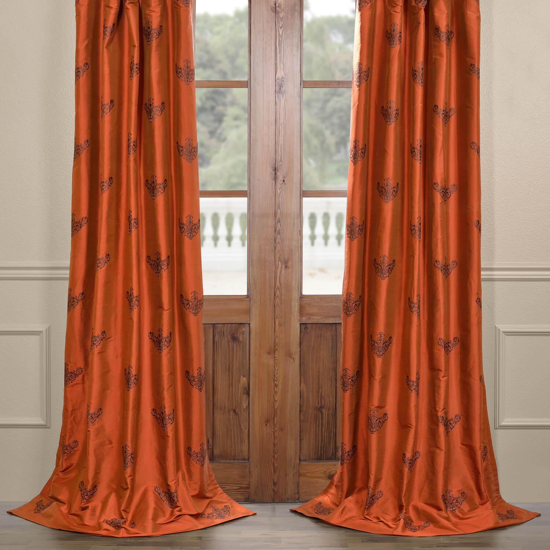 Fairmont Silk Curtain