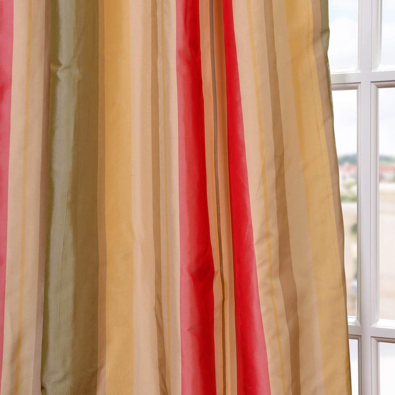 Bellevue Silk Taffeta Stripe Swatch