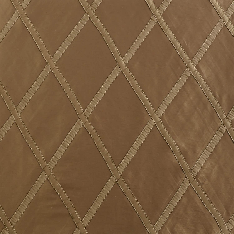 Alexandria Gold Taffeta Faux Silk Swatch