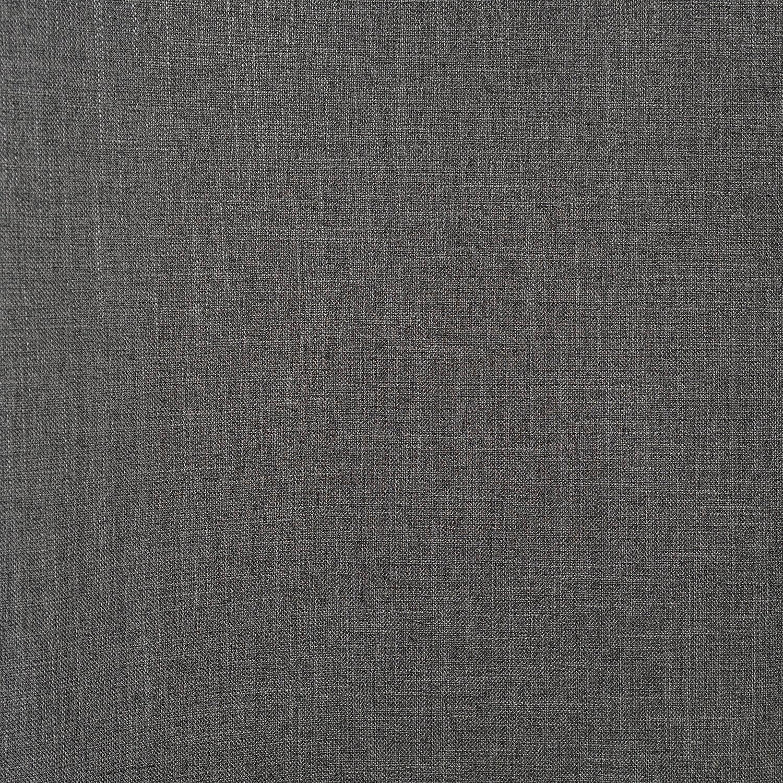 Phantom Grey Faux Linen Swatch