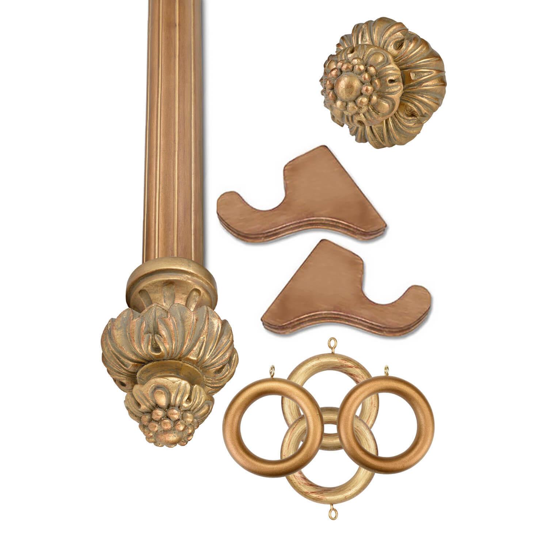Royal Fancy Historical Gold Prepacked Wooden Rod Set