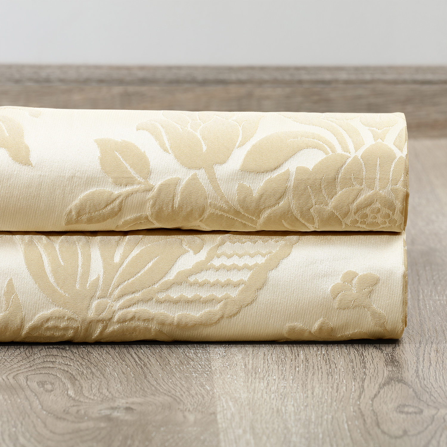 Magdelena Champagne Faux Silk Jacquard Swatch