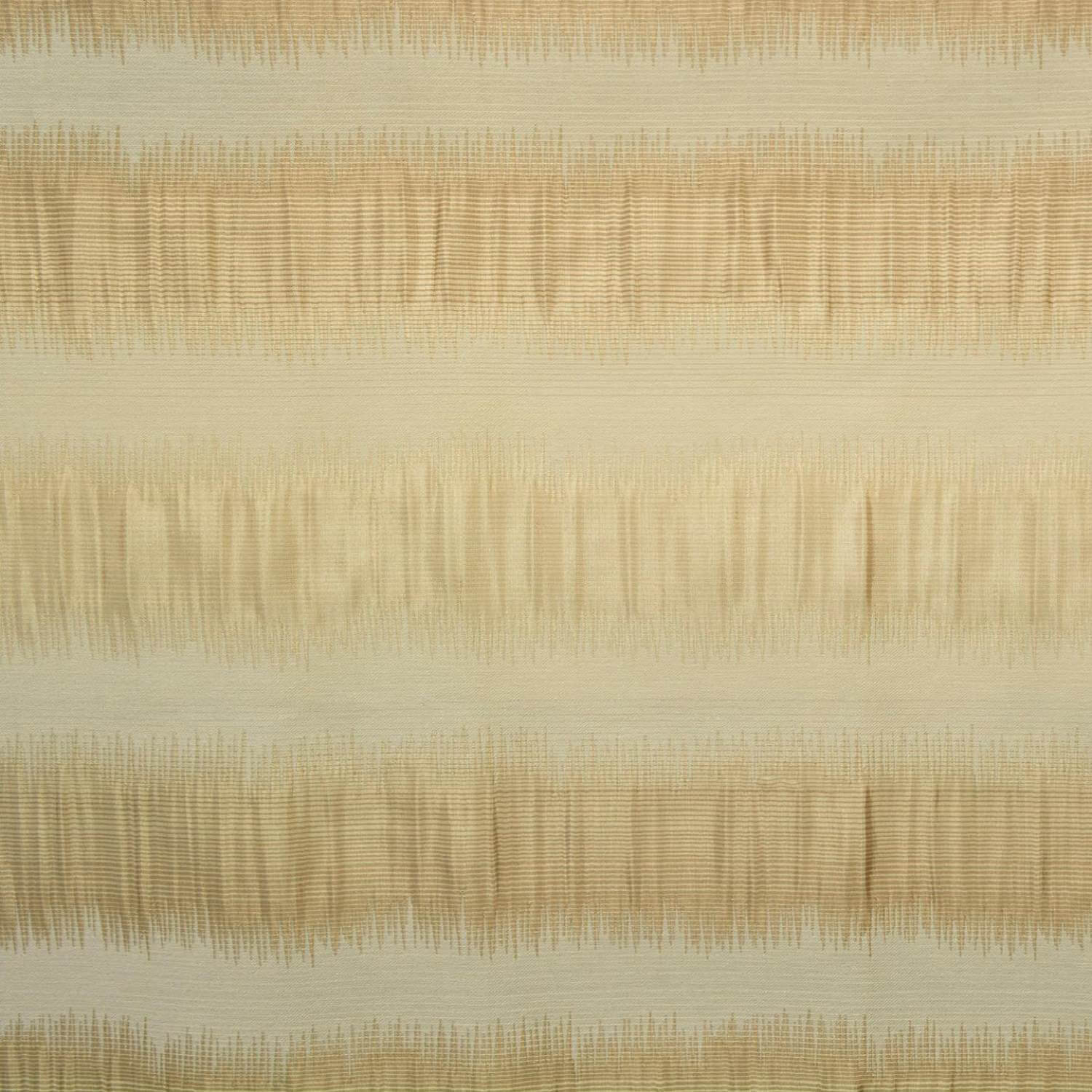 Summer Sunset Horizontal Stripe Faux Silk Jacquard Swatch