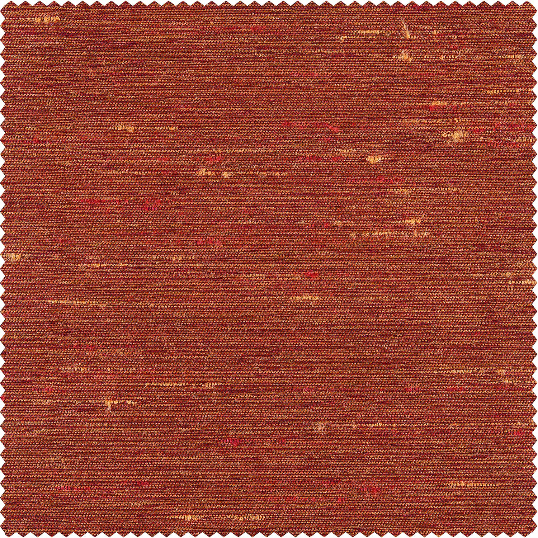 Poppy Fields Yarn Dyed Faux Dupioni Silk Swatch
