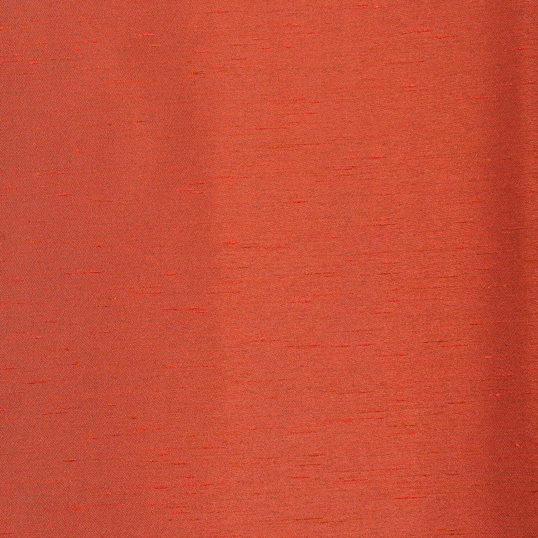 Blood Orange Yarn Dyed Faux Dupioni Silk Swatch